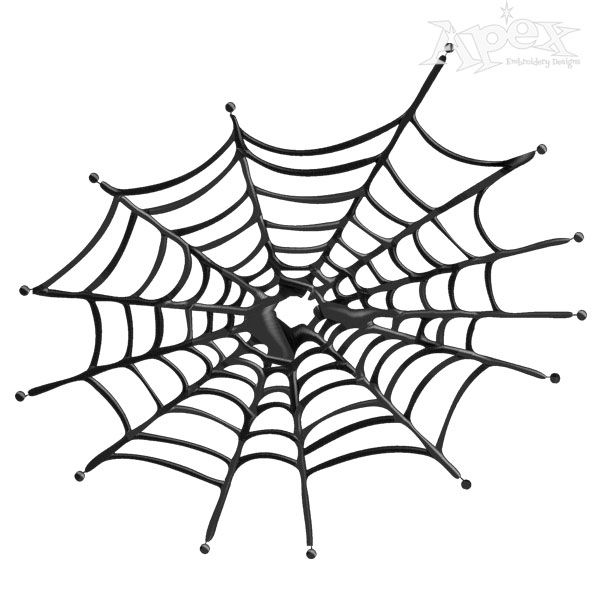 Spider Web Embroidery Designs