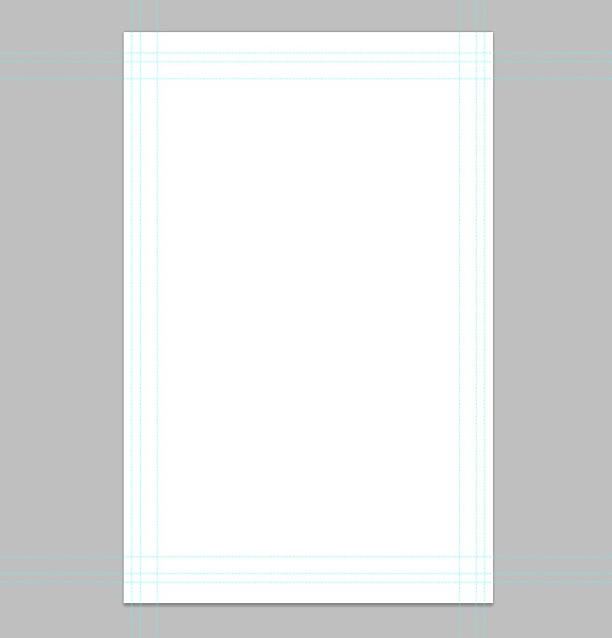 Standard Comic Book Page Template