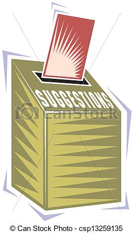 Suggestion Box Clip Art