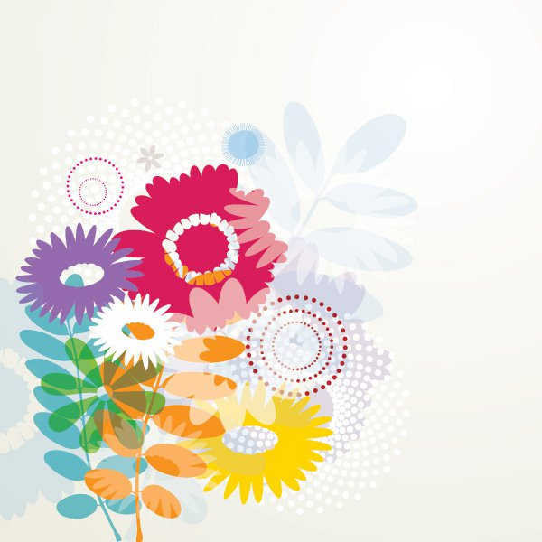 Summer Flower Graphics