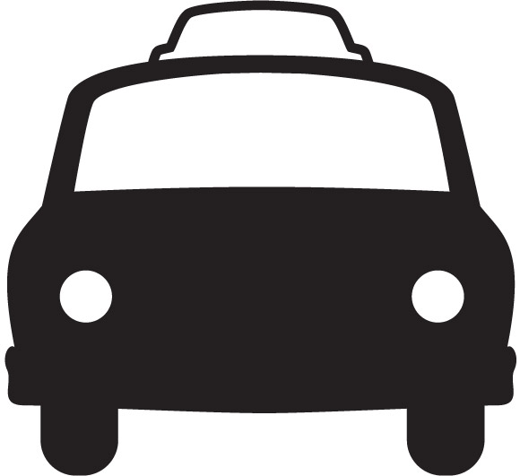 12 Transportation Taxi Icon Images