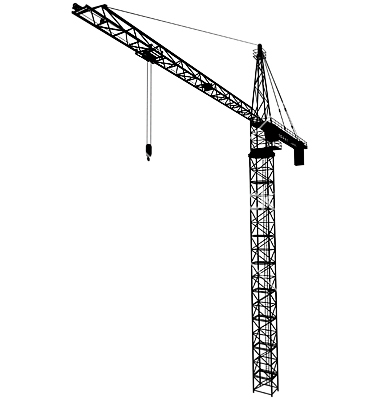 16 Construction Crane Vector Images