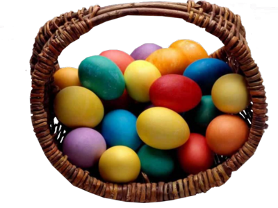9 PSD Easter Basket Images