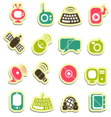 Vector Communication Icons