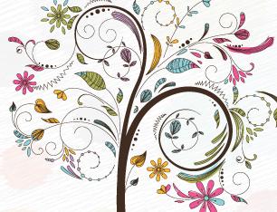 Vector-Free-Tree-Illustration