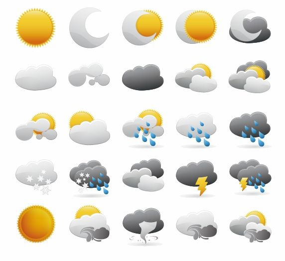 14 Free Weather Graphics Images