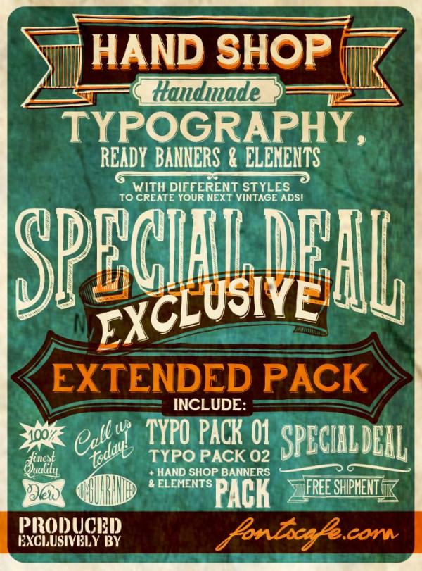 Vintage Retro Fonts
