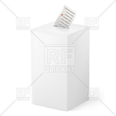 Voting Ballot Clip Art