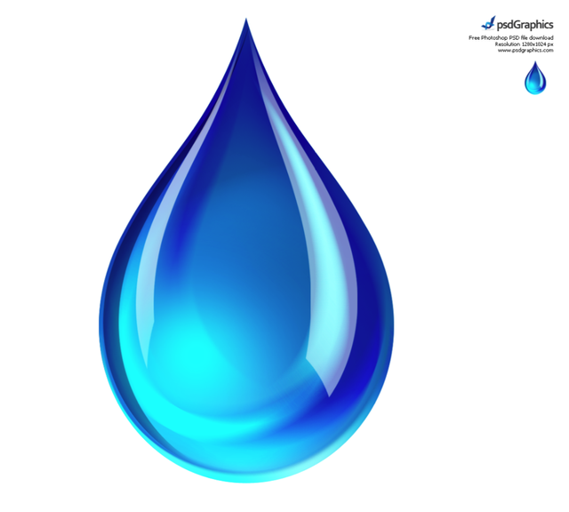 10 Large Water Drop Icon Images