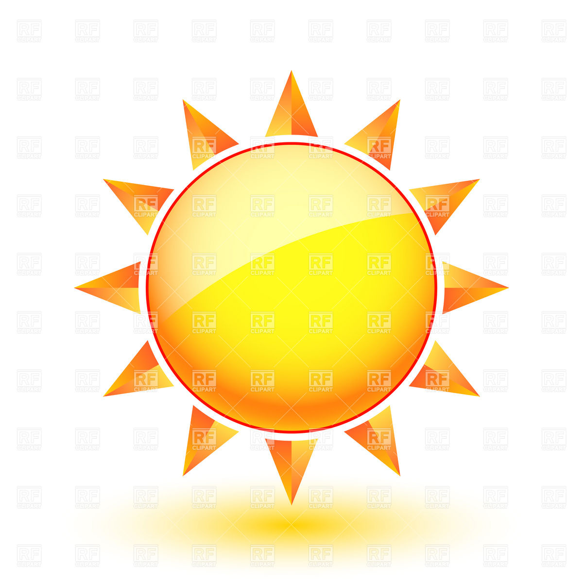9 Sun Weather Icon Images