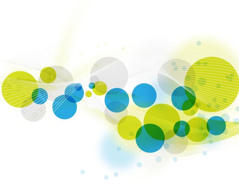 Abstract Circle Vector Art
