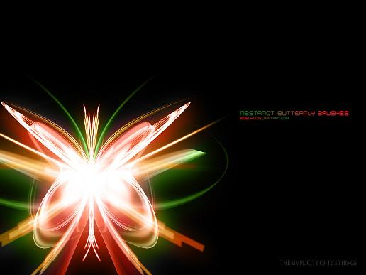 Abstract Light Effects Photoshop
