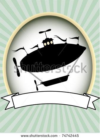 Airship Silhouette