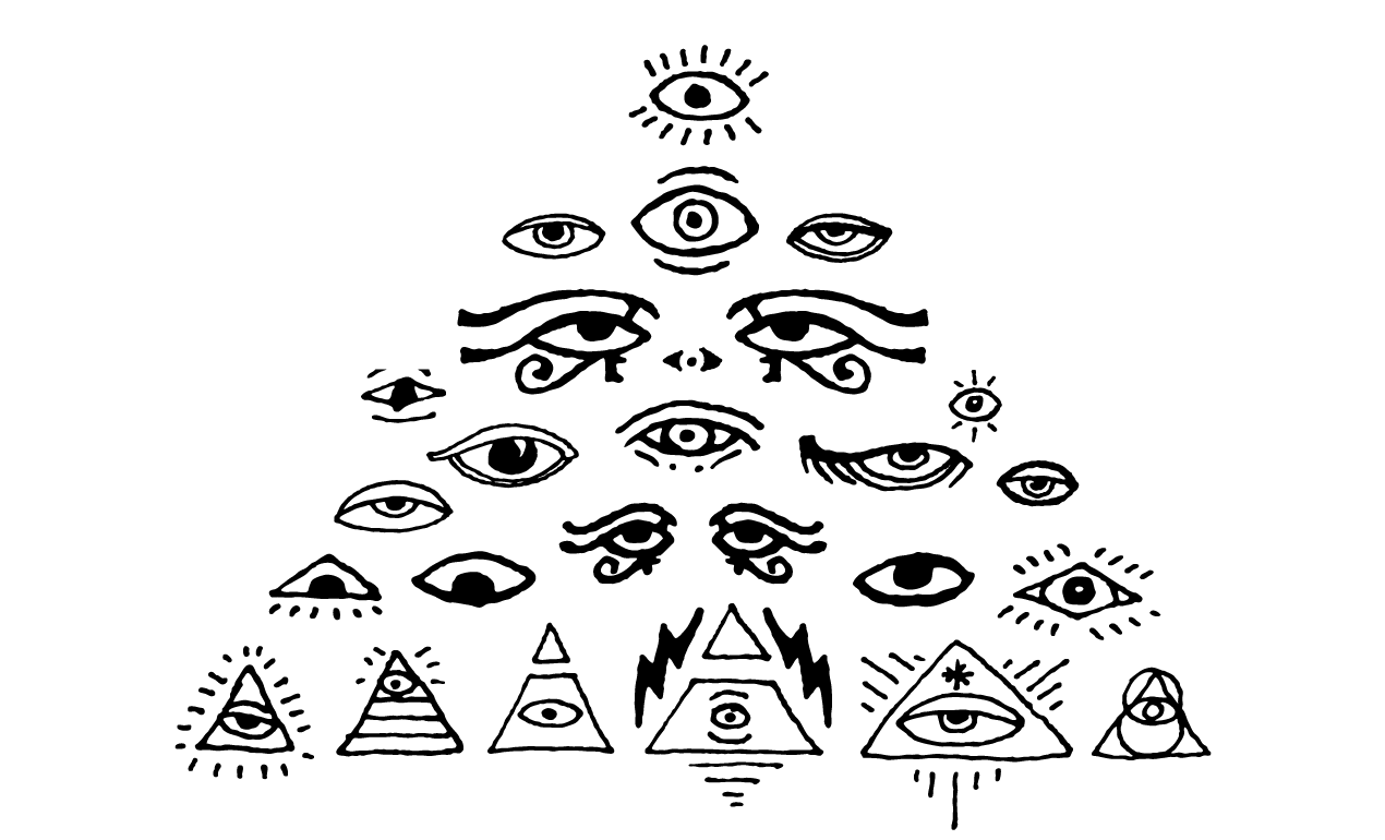 14 All Seeing Eye Vector Art Images
