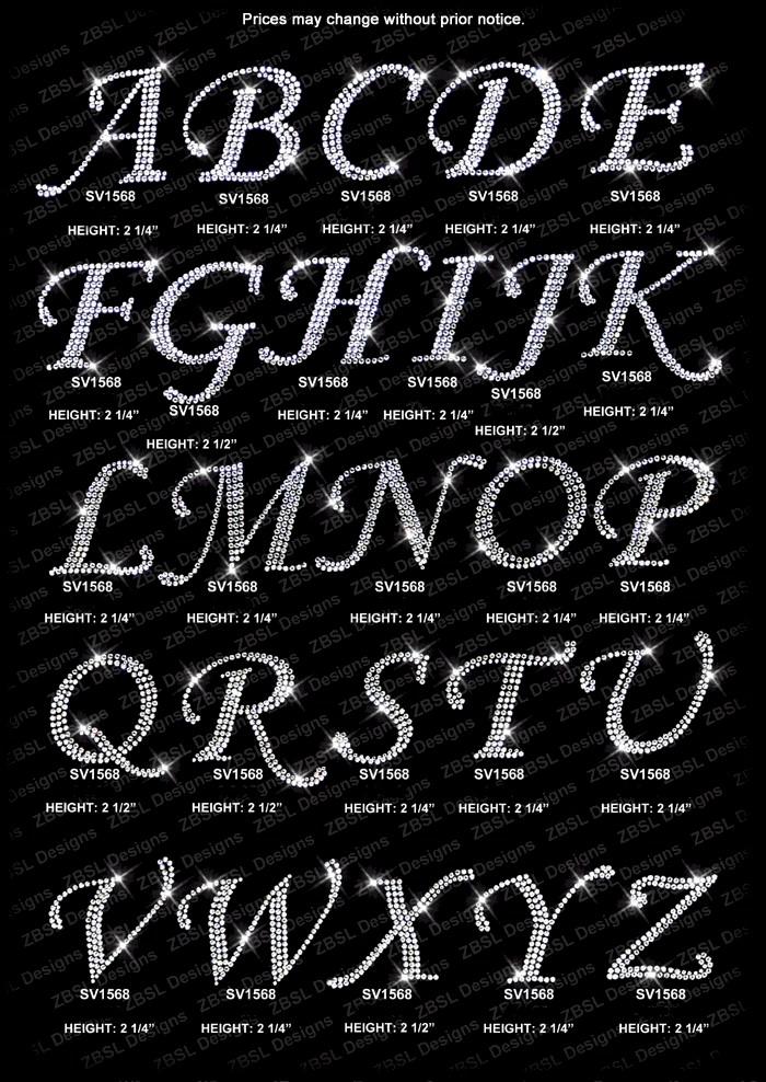 8 Capital Letter Fonts Images