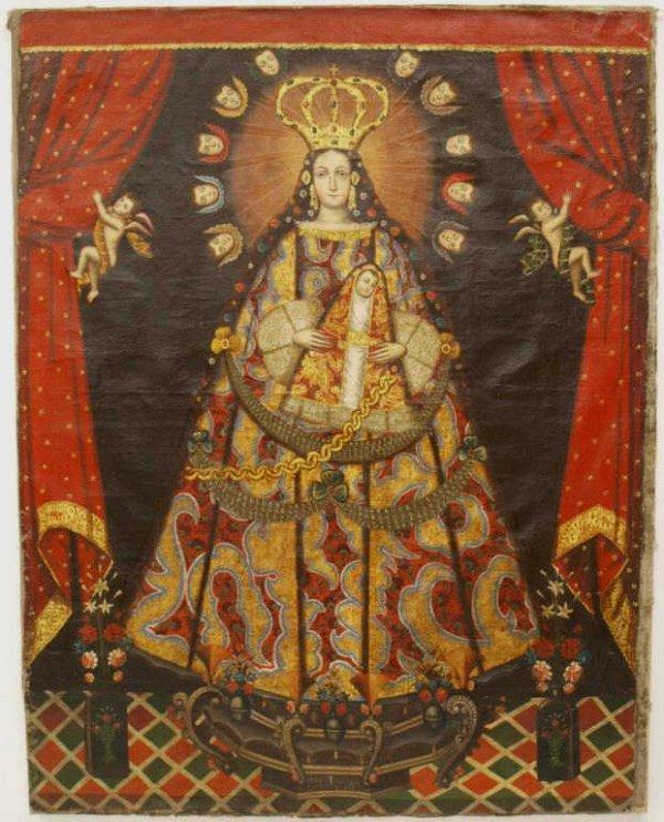 Antique Religious Oil Paintings