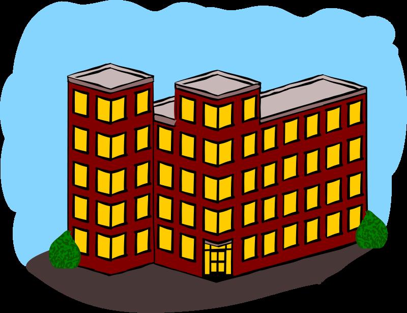 Apartment Building Clip Art