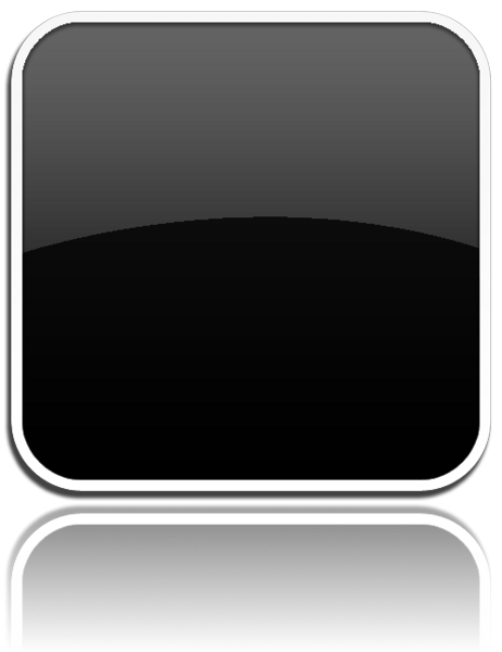 Apple Black App Icon Template