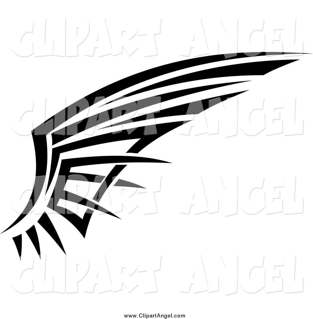7 Tribal Wings Vector Images - Wings Vector Art Free ...