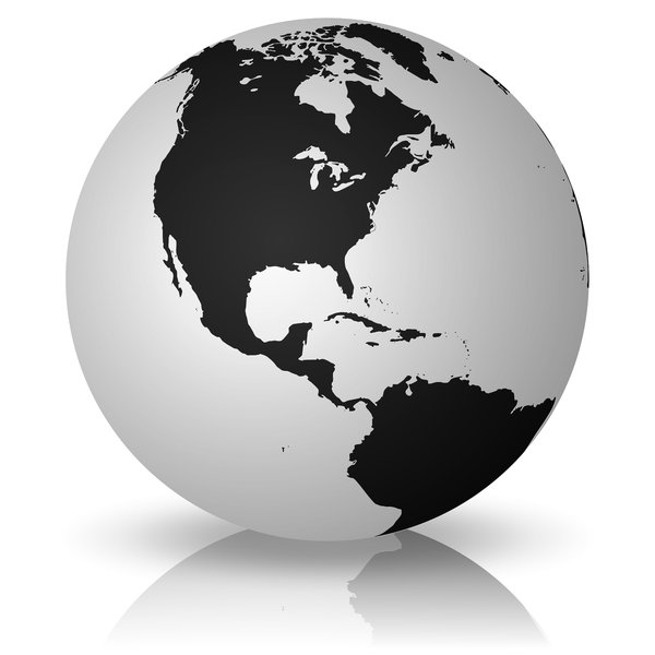 10 Simple Globe Vector Images