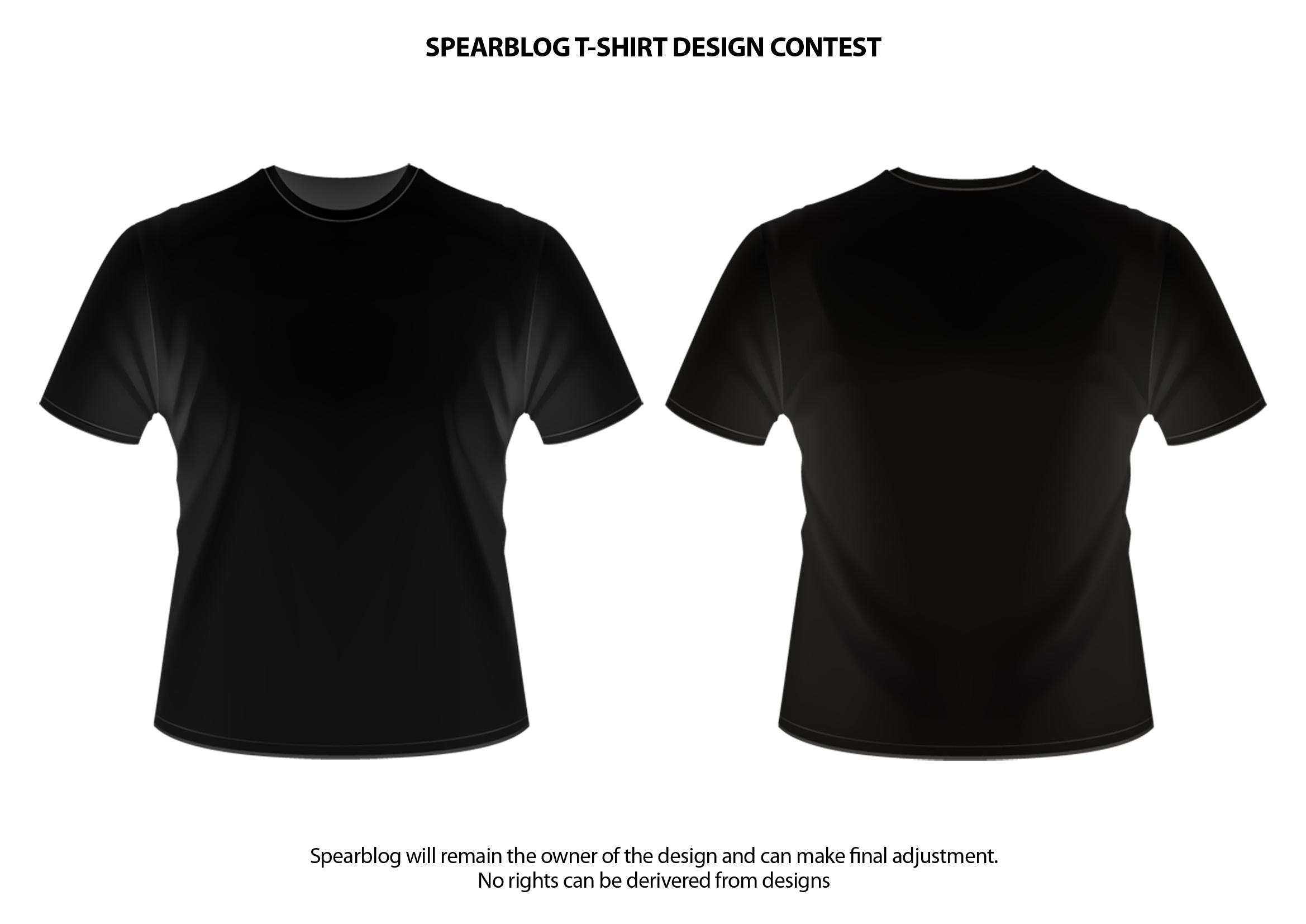 Gemütlich Leere T Shirt Design Vorlage Galerie - Beispiel Business ...