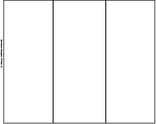 14 Blank Tri-Fold Brochure Template Word Images - Free Blank Tri