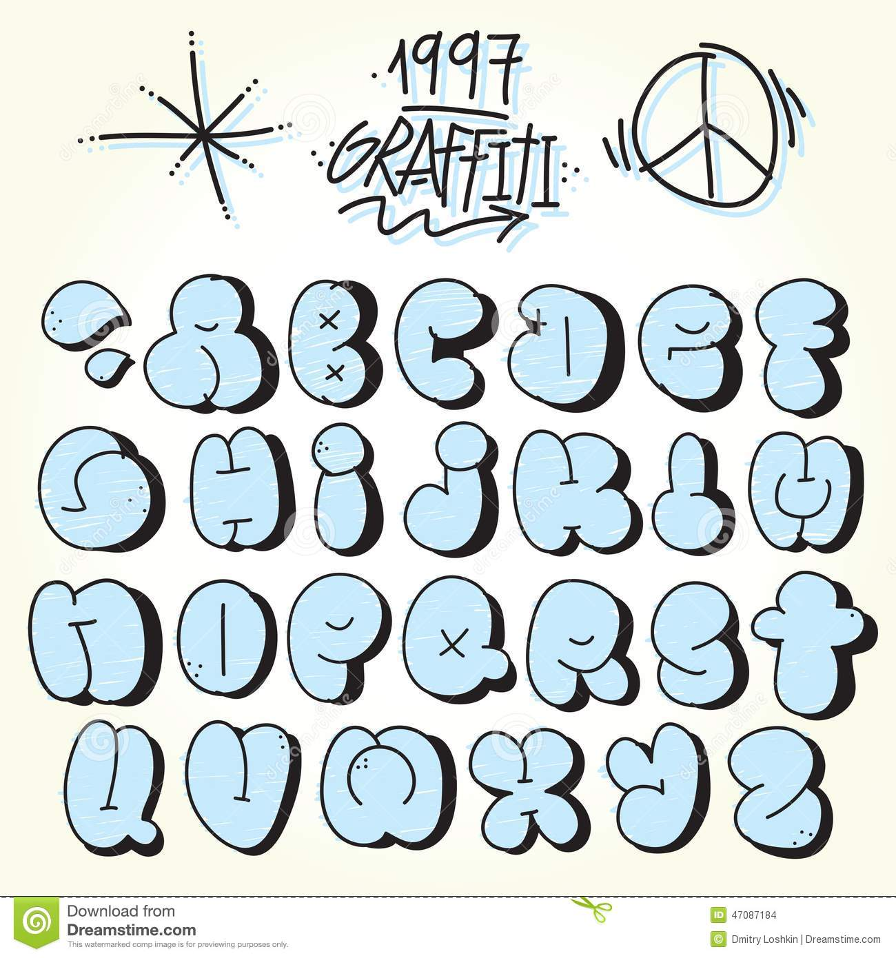 Bubble Graffiti Font Downloads