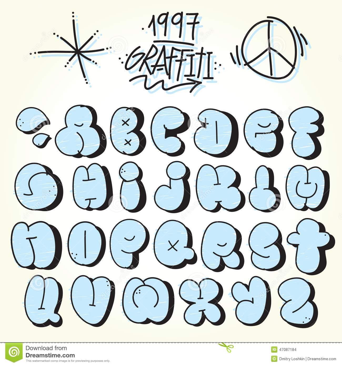 Bubble Graffiti Font Downloads
