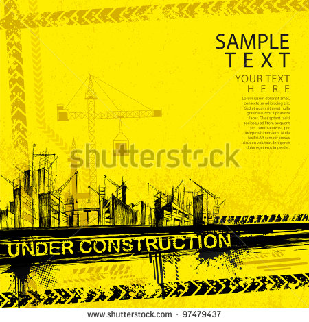 12 Vector Under Construction Website Images