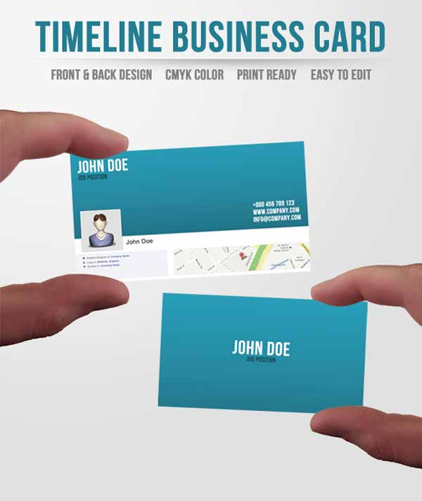 Business Card On Facebook