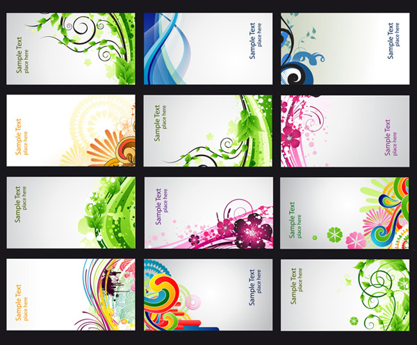 Business Card Vector Free Download