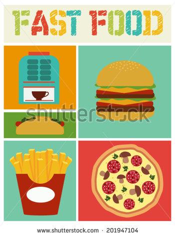 Cartoon Party Food