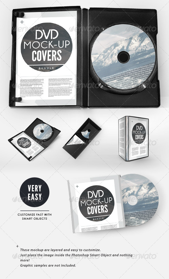 CD-Cover PSD Mockup