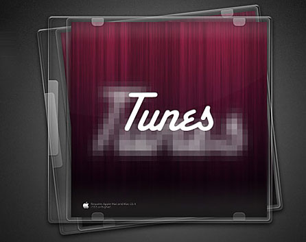 CD Jewel Case Template PSD