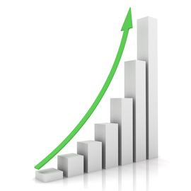Charts Showing Business Growth