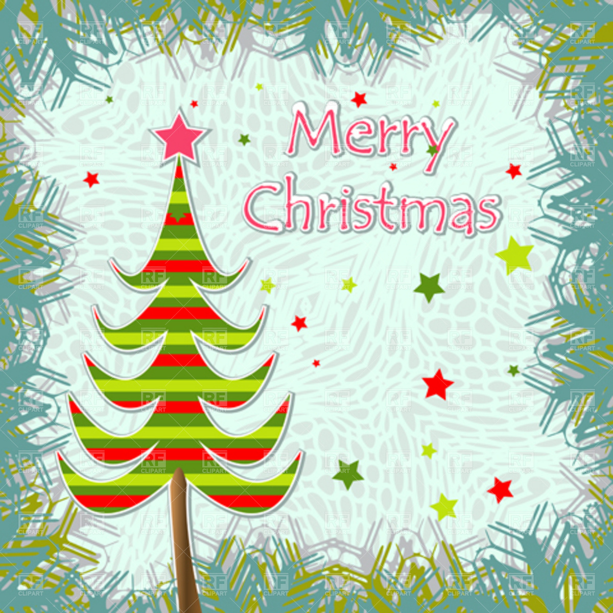 12 Christmas Greeting Cards Template Images
