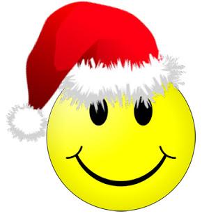 Christmas Smiley-Face Symbols