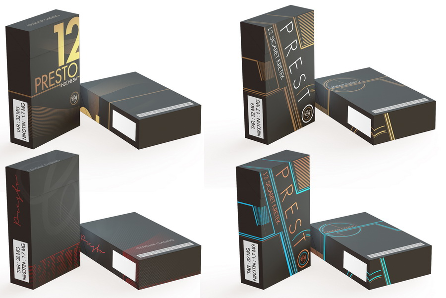 Cigarette Box Mockup PSD