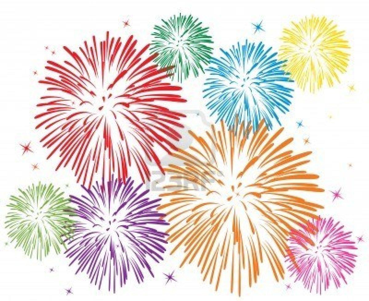 15 Fireworks Clip Art Vector Images