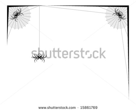 Corner Spider Web Graphics