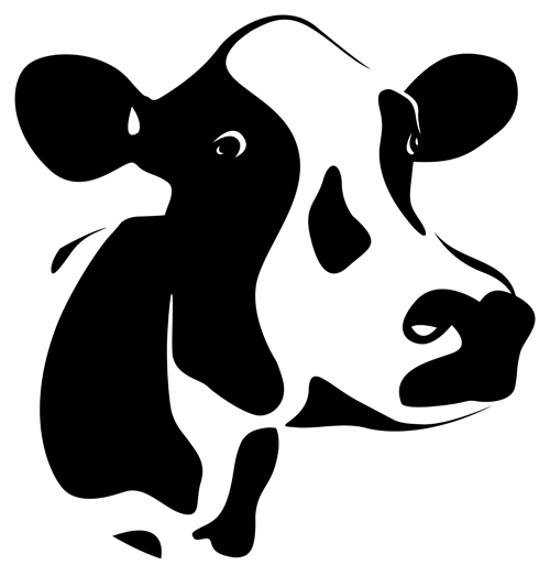 17 Free Vector Cow Icon Images