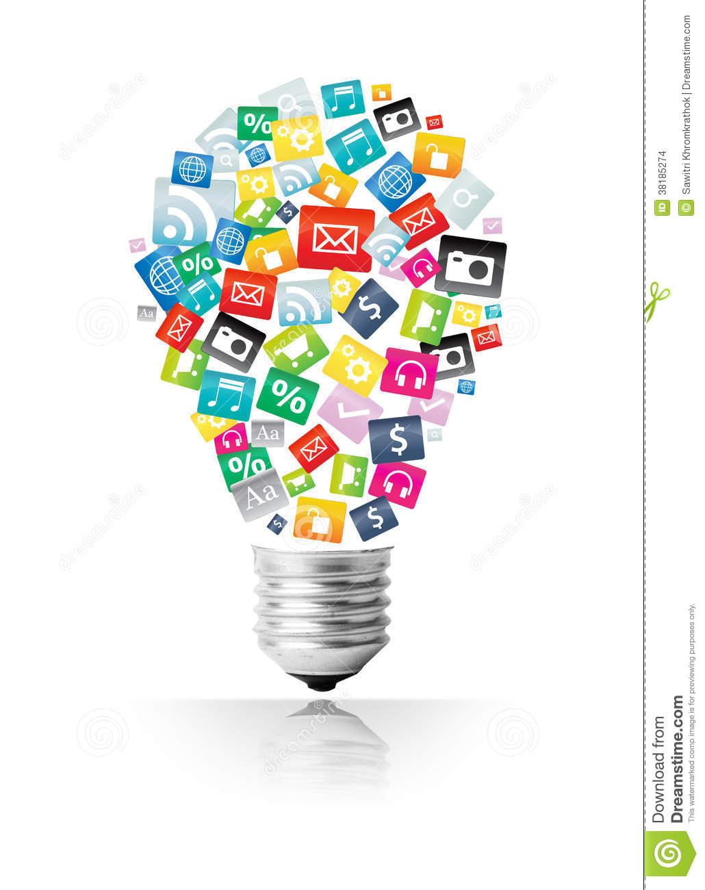 Creative Light Bulb Icon