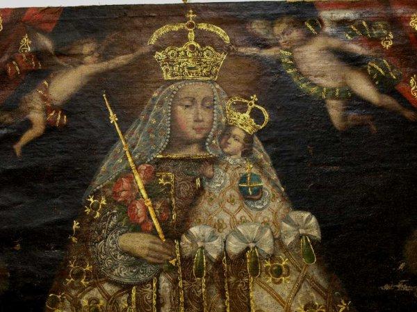 Cuzco School Madonna Paintings