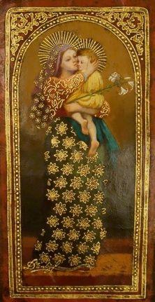 Diana Mendoza Paintings Madonna