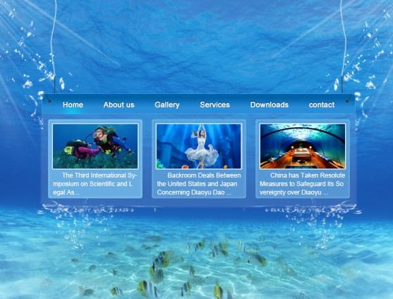 Download File PSD Template Website