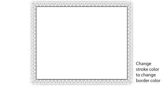 14 Patriotic Certificate Borders Vector Images - Patriotic ...