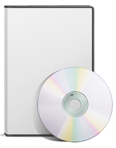 DVD Case Cover Template PSD