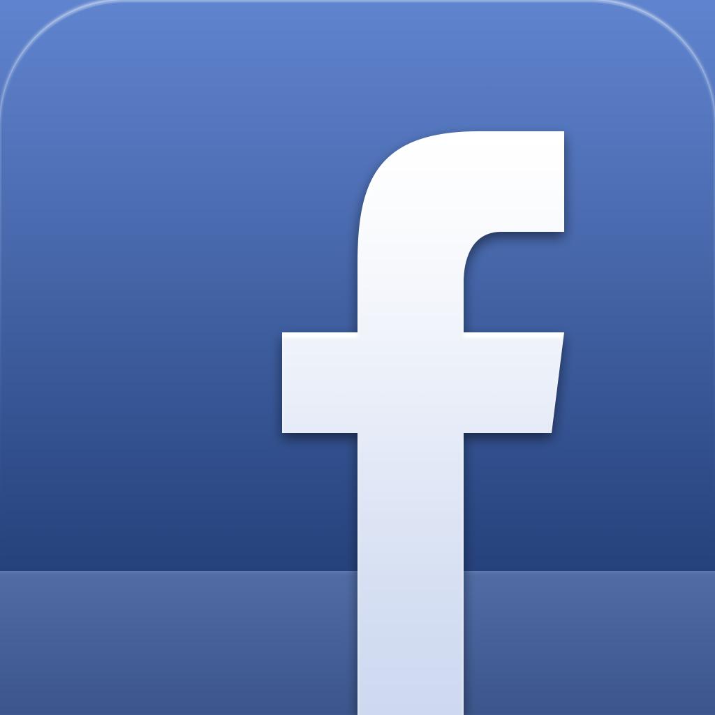 Facebook iPhone App Icon