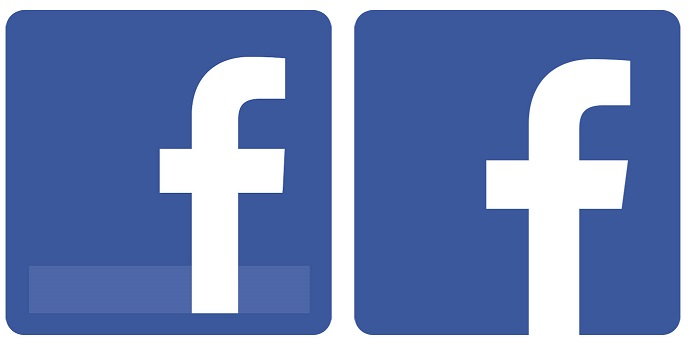 Facebook Logo Business Card