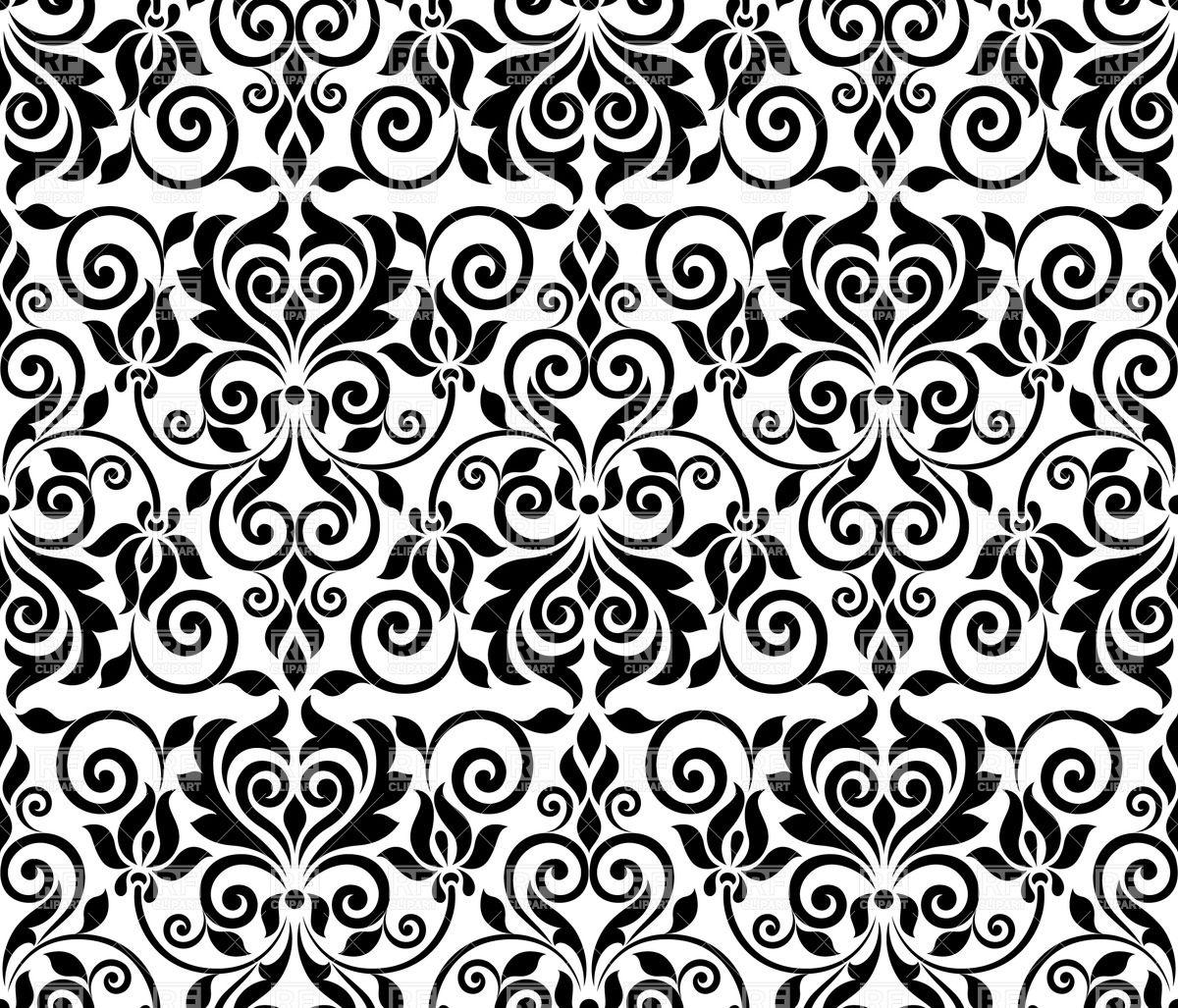 Floral Ornament Vector Clip Art